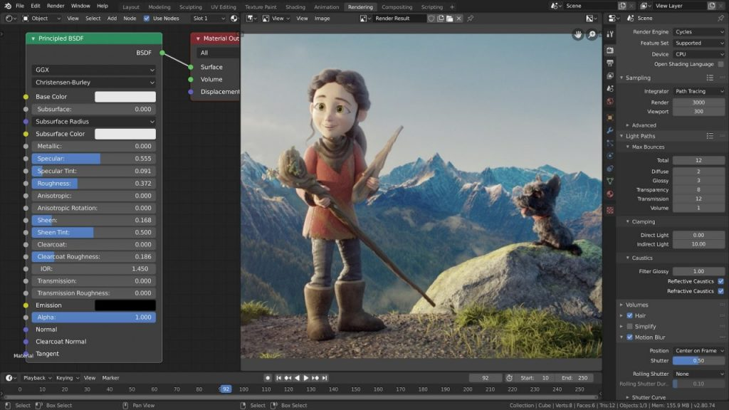 High-quality open-source software for 3D content and graphics